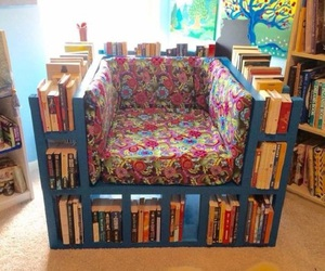 book, diy, and armchair image