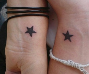 stars and tattoo image