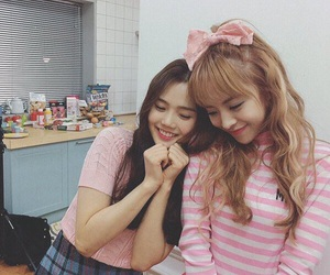 oh my girl, hyojung, and jine image