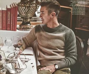 choi siwon, gentleman, and handsome image