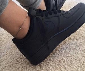 beautiful, black shoes, and nike image