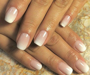 manicure, nails, and pink image