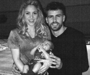 couple, fc barcelona, and gerard piqué image