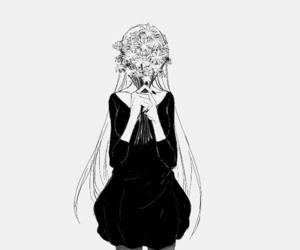 anime, manga, and flowers image