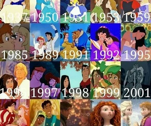 ariel, brave, and disney image