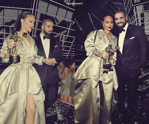 Drake, rihanna, and vanguard image