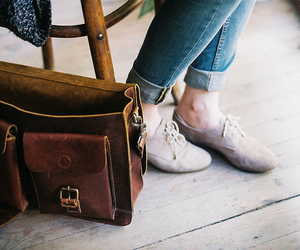 vintage, shoes, and bag image