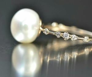 bridal, bride, and diamonds image