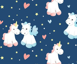 wallpaper, background, and unicorn image