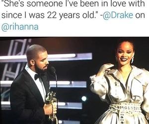 couple, Drake, and dress image