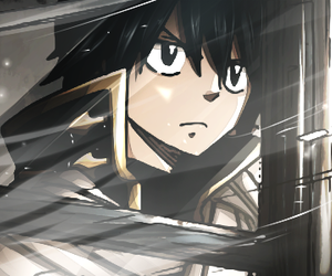 anime, fairy tail, and zeref image