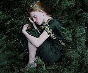 green and fantasy image