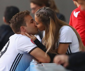 love, goals, and kiss image