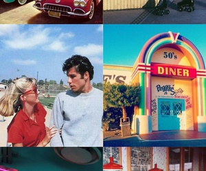 50's, grease, and 60's image