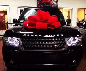 range rover, car, and gift image