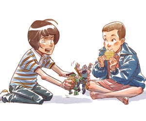 eleven, serie, and mike image