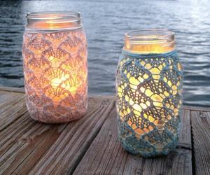 light, candle, and summer image