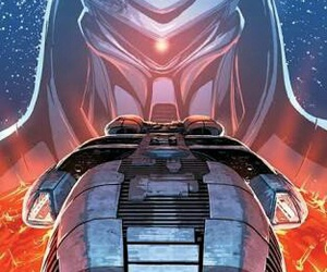 battlestar galactica and cylon image