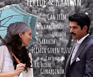 Turkish, fahriye evcen, and calikusu image