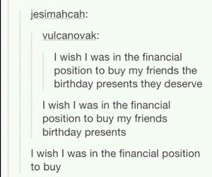 present, tumblr, and friends image