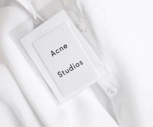 white, acne, and acne studios image