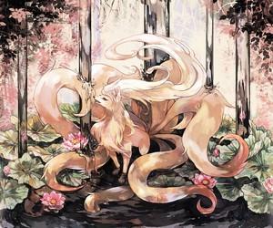pokemon and ninetales image