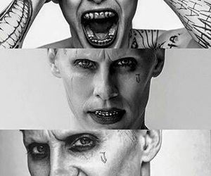 joker, suicide squad, and crazy image