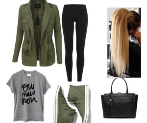 black, mode, and outfits image