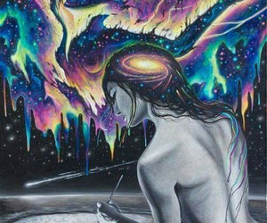 art and trippy image