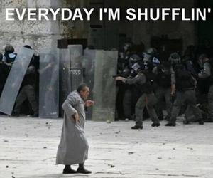funny, shufflin, and everyday image
