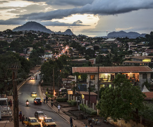 calm, sky, and cameroon image