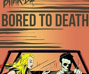blink-182 and bored to death image