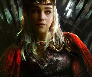 game of thrones, daenerys targaryen, and Queen image