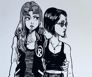 dessin, teen titans, and bbf image
