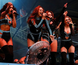 jesy nelson, leigh anne pinnock, and perrie edwards image