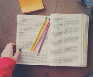 bible, books, and love image