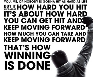 quotes, motivational, and rocky image