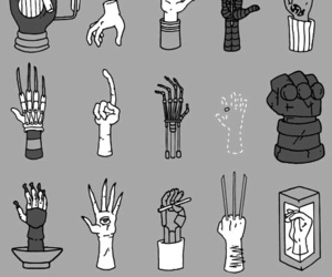hands, hand, and black and white image