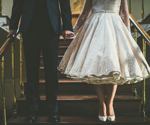 love, dress, and vintage image