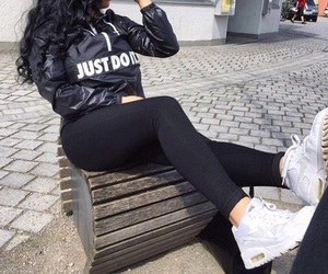 Just Do It, clothing, and fashion image