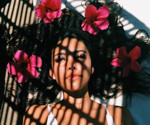 flowers, madison beer, and summer image