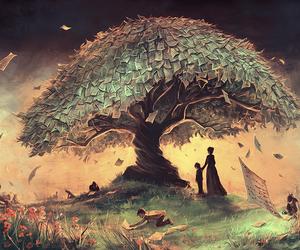 surreal, tim burton, and fantasy universes image