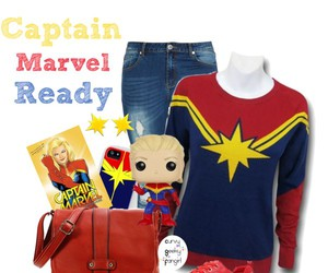 Marvel, plus size, and captain marvel image