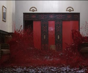 The Shining and blood image