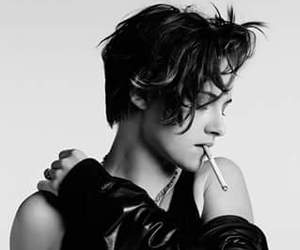 kristen stewart, black and white, and kristen image