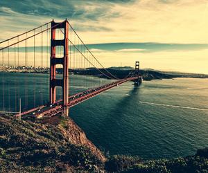 bridge, san francisco, and usa image
