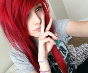 red hair and hair image