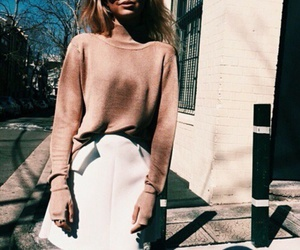 city, girl, and street style image