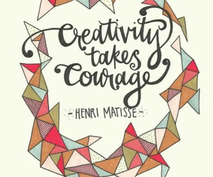 creativity, art, and courage image
