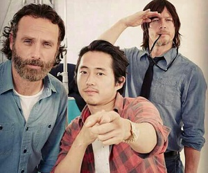 twd, the walking dead, and glenn image